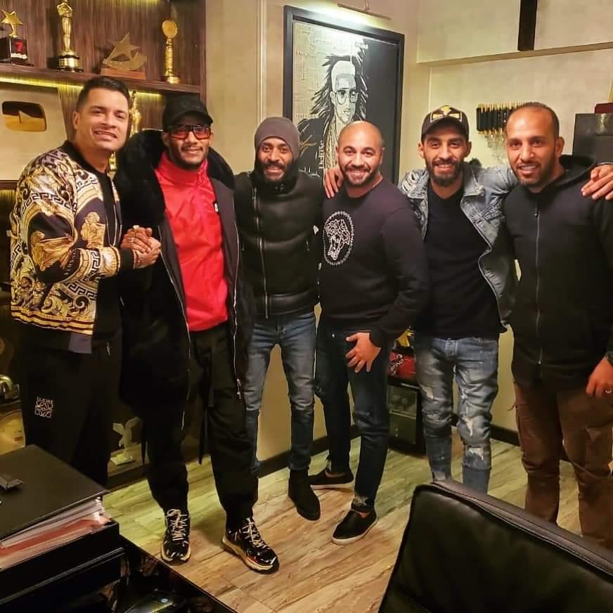 محمد رمضان وإسلام شيبسي،حسن شاكوش،تامرمرسي،محمد سامي