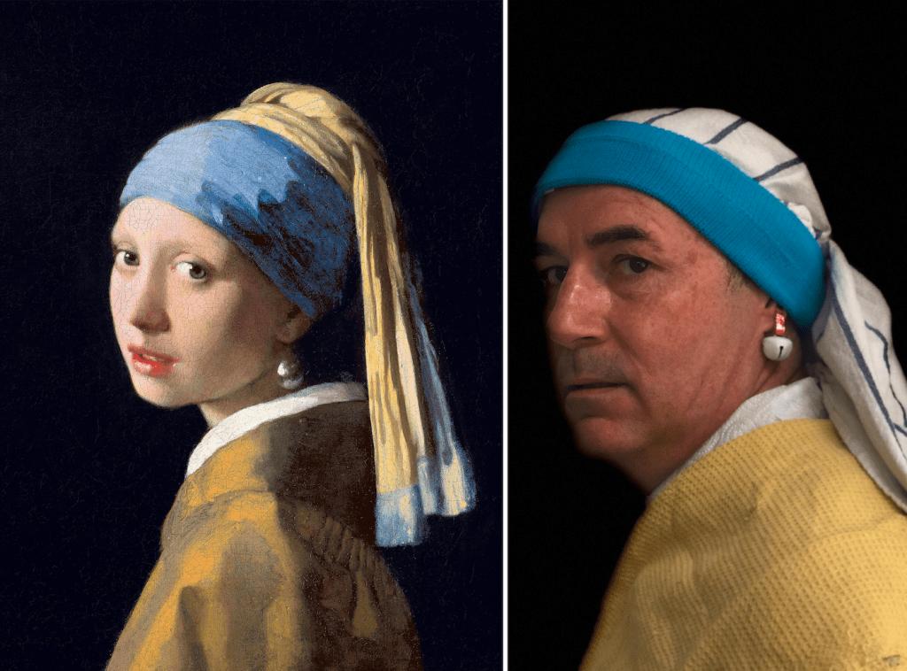 يذكر أن التحدي انطلق عبر منصة تويتر حين طلب المتحف من مستخدمي الإنترنت نشر أعمالهم الفنية مصحوبة بالأعمال الأصلية