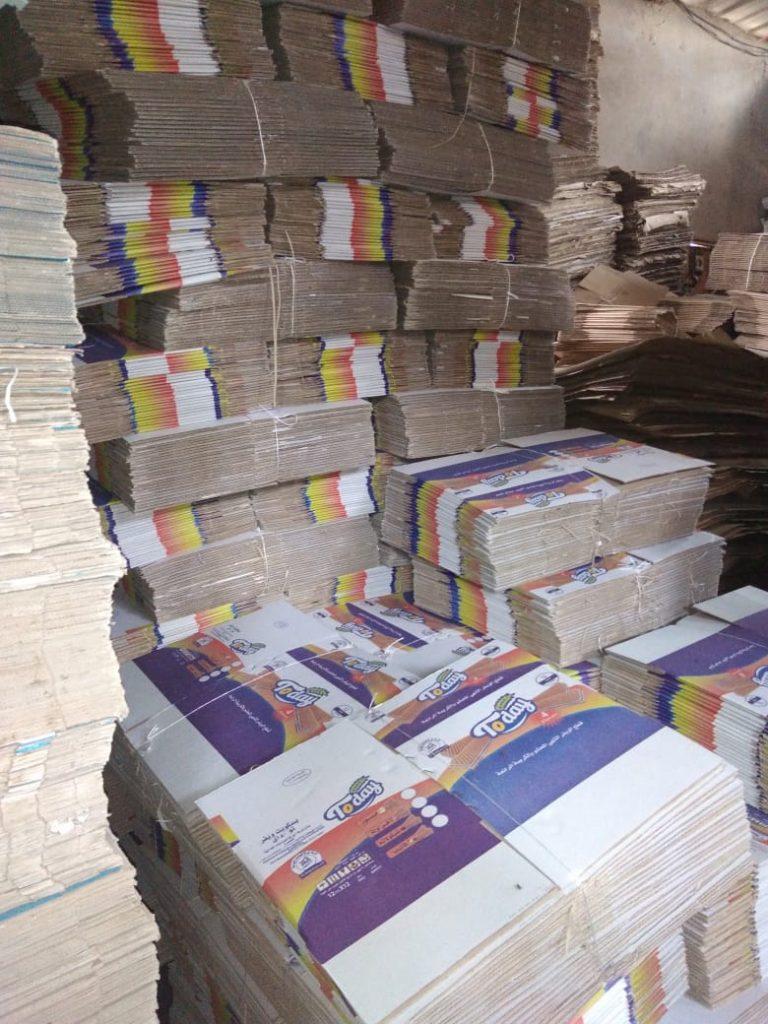 محافظ الدقهلية:غلق مصنع كراتين غير مرخص بدكرنس وضبط 10 آلاف كرتونة