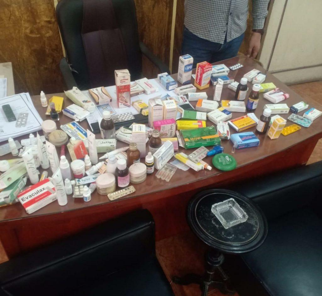 محافظ الدقهلية :ضبط أدوية مغشوشة لعلاج فيروس كورونا بالمنصورة