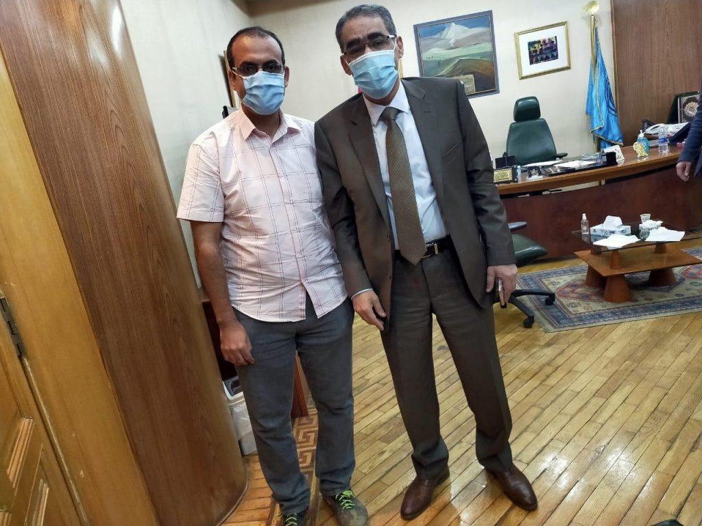 رئيس تحرير برنامج طريقى مع نقيب الصحفيين