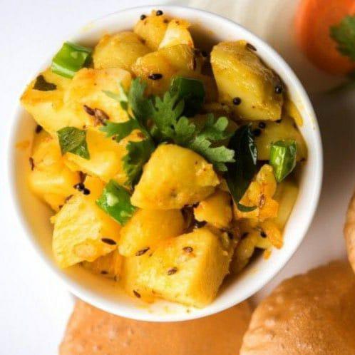 بطاطس هندية بالبهارات