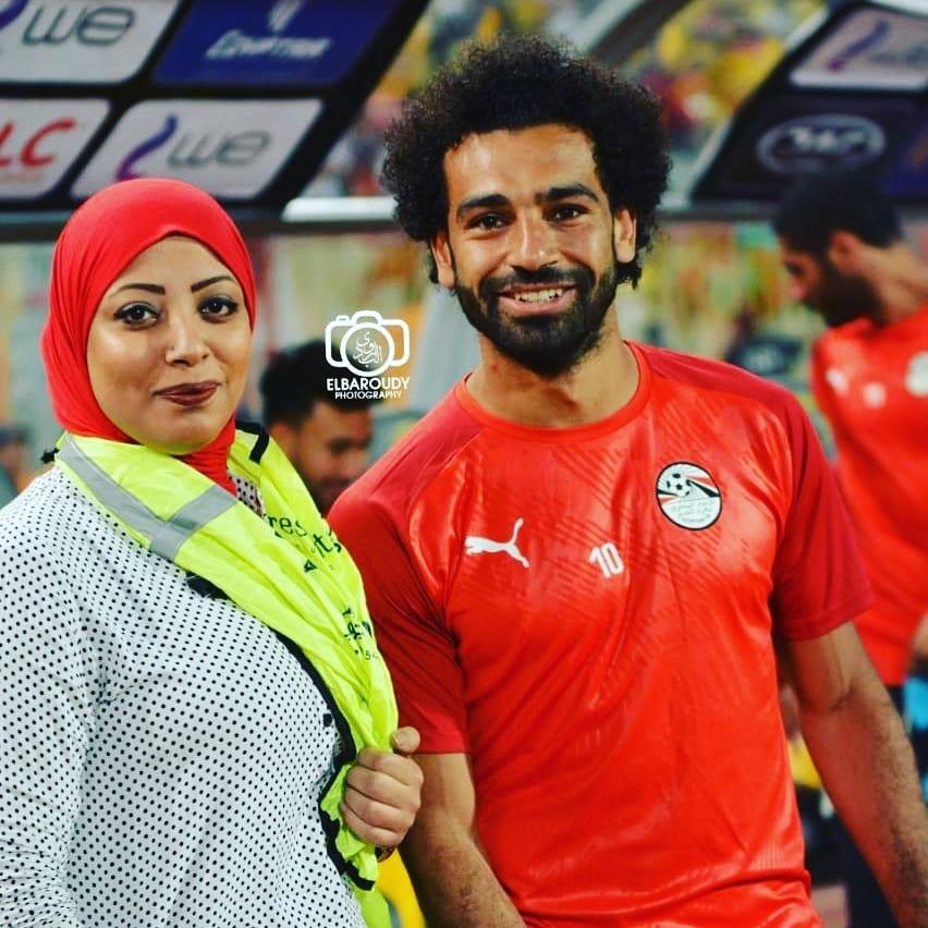 جهاد أيمن مصورة على خطى الكبار في الوسط الرياضي