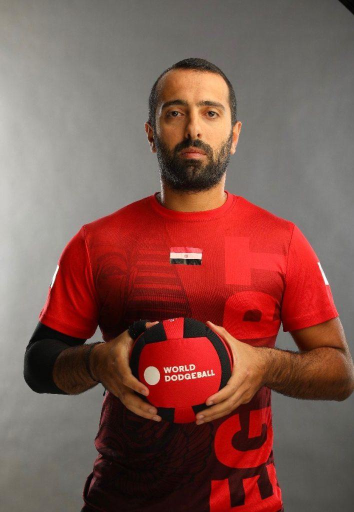 كابتن هاني نبيل يستعد لنهائيات كاس  العالم للدودج بول باستاد القاهرة