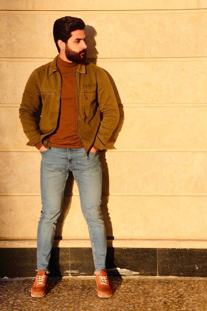 الفنان الشاب محمد عادل عراقي