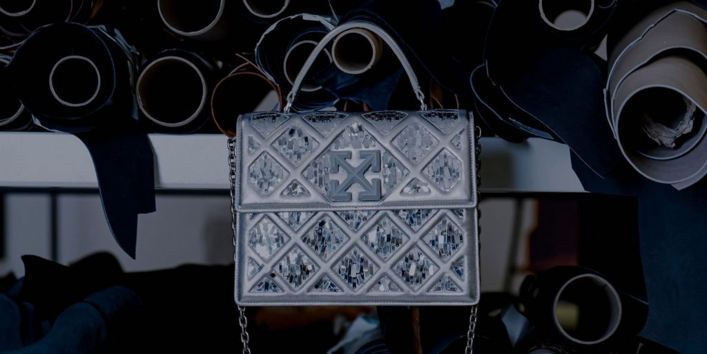 Off-White Releases a Handbag Inspired by the Louvre Pyramid