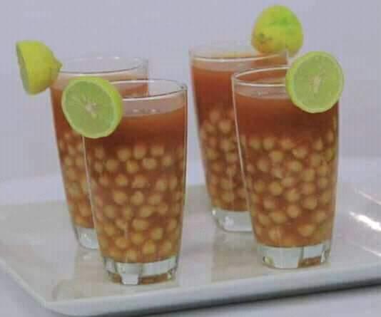 مشروب جميل بيتشرب في شتا بذات وبيدفي