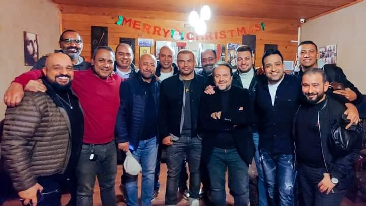 فريق عمل الهضبة عمرو دياب