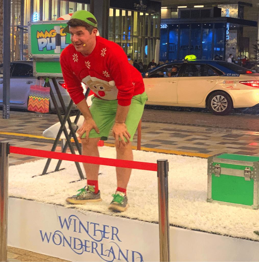 Magic Phil Show – now at Winter Wonderland