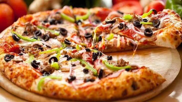 البيتزا الشرقى بالفراخ