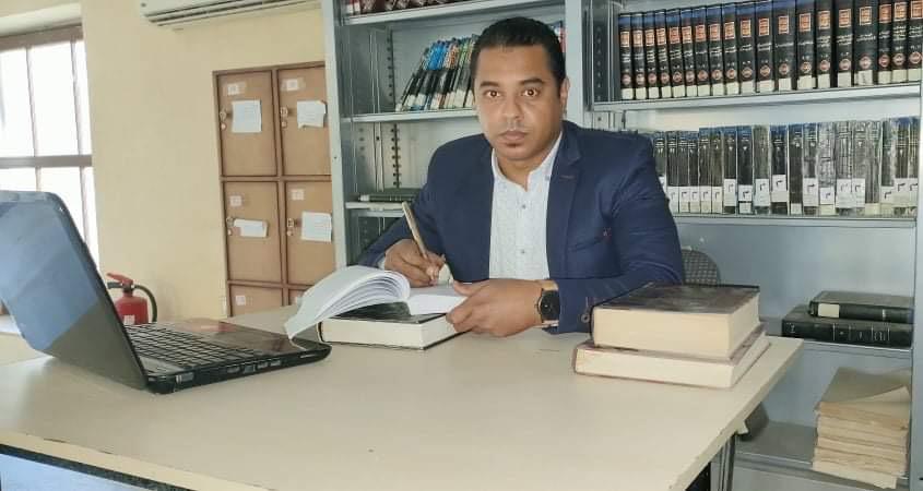 """الكاتب أحمد محمد عثمان يطرح  رواية""""الملحمة"""""""