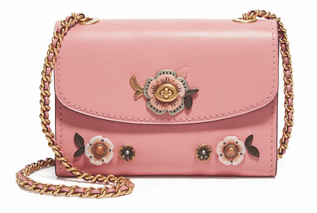 TEA ROSE STONES ALL OVER PARKER AT OUNASS, DHS1,950