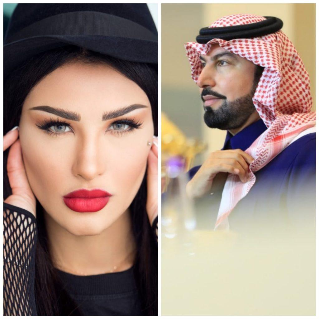 هلا تسبق هلا..تجمع الأمير بدر بن محمد بالمطربة أميمة طالب بأعياد الحب