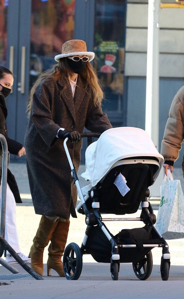 Gigi Hadid Goes Incognito for Another Stylish Stroll with Her Baby Girl