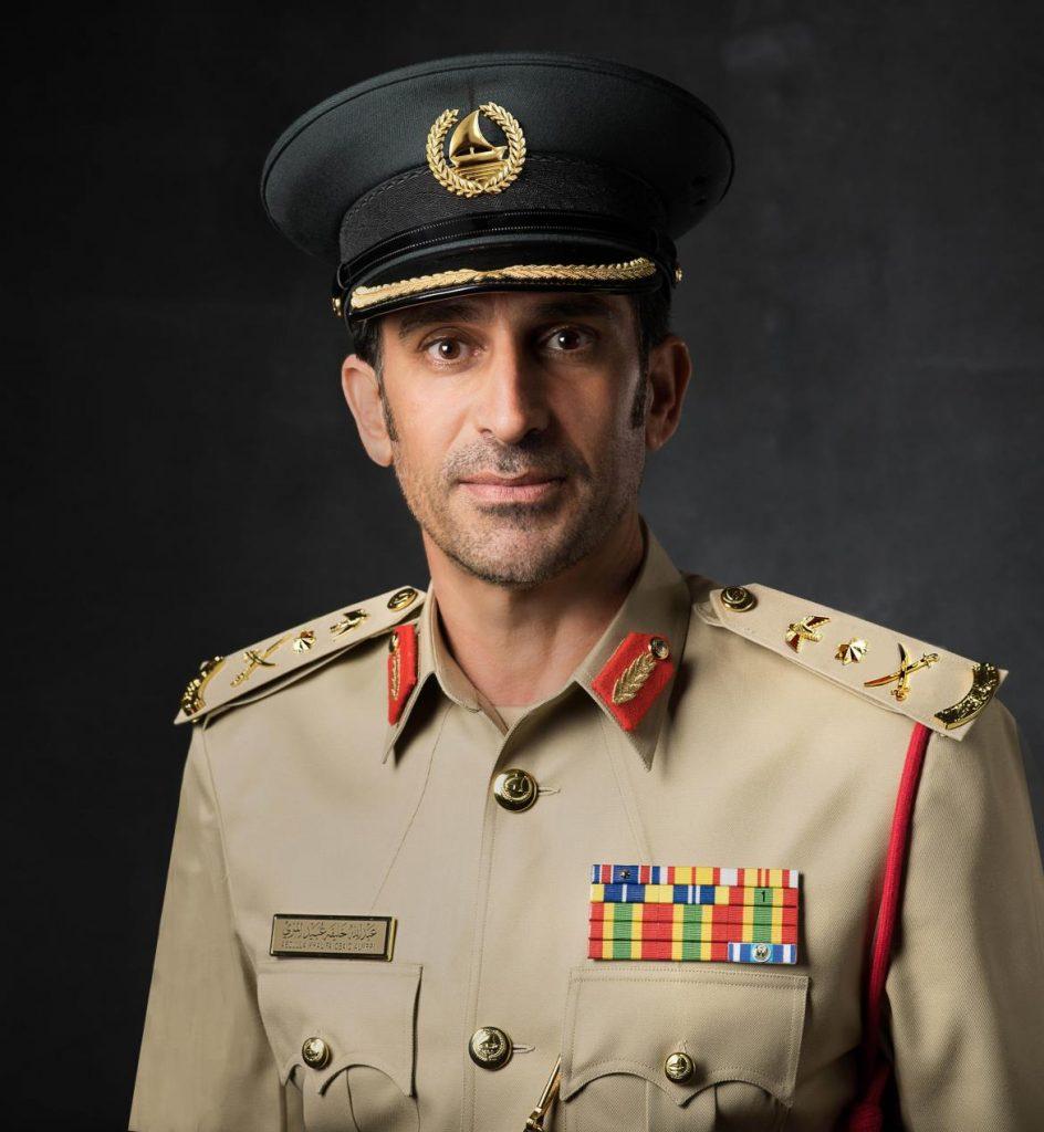 معالي عبدالله خليفة المري، القائد العام لشرطة دبي