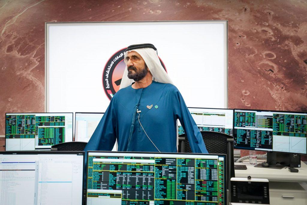 بعد نجاحه في دخول مدار الالتقاط حول الكوكب الأحمر بنجاح في 9 فبراير 2021