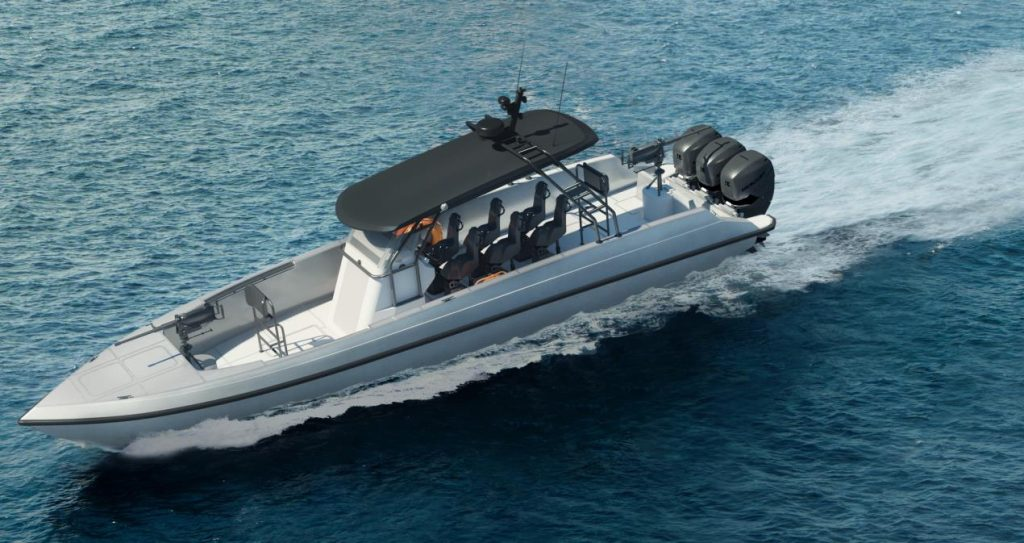 ADSB launches First UAE-Made 16m and 12m Fast Patrol Boats at NAVDEX 2021