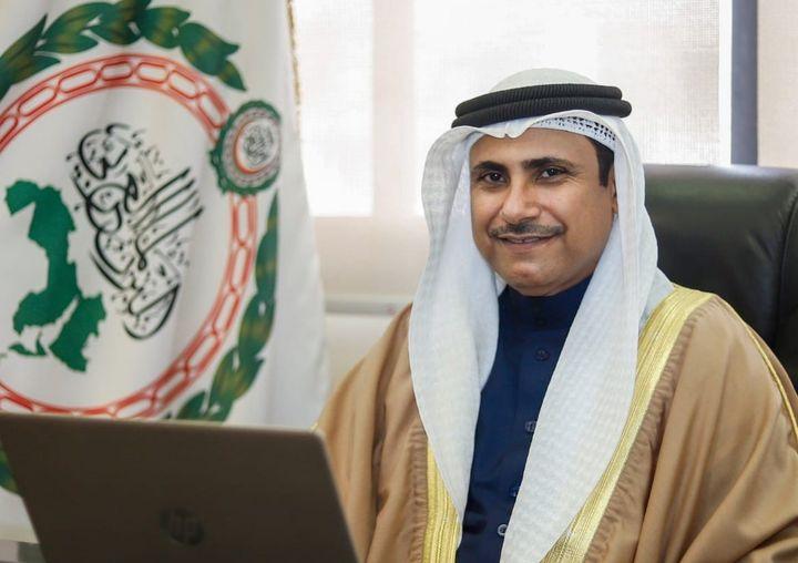 رئيس البرلمان العربي يُثمن مبادرة دبي العالمية لإيصال لقاحات كورونا إلى الدول النامية