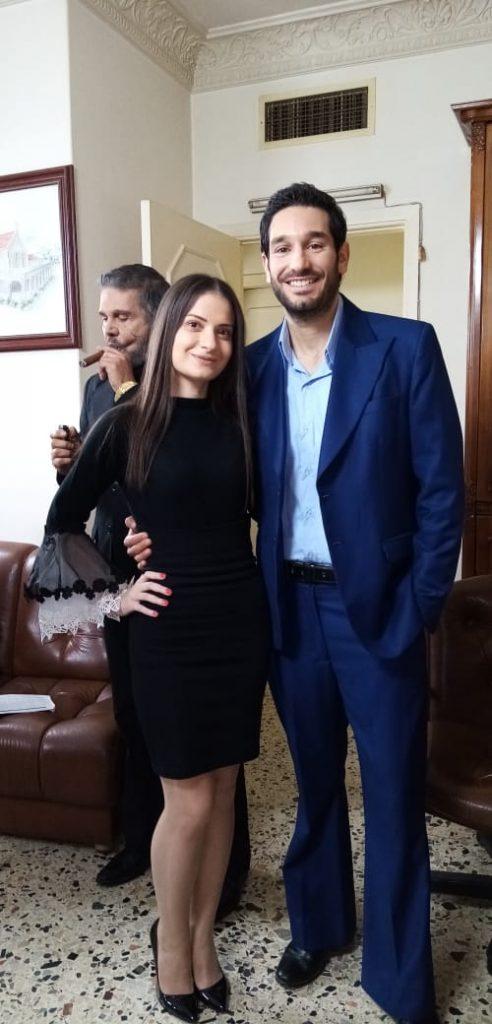 نتالي مع زياد صابر