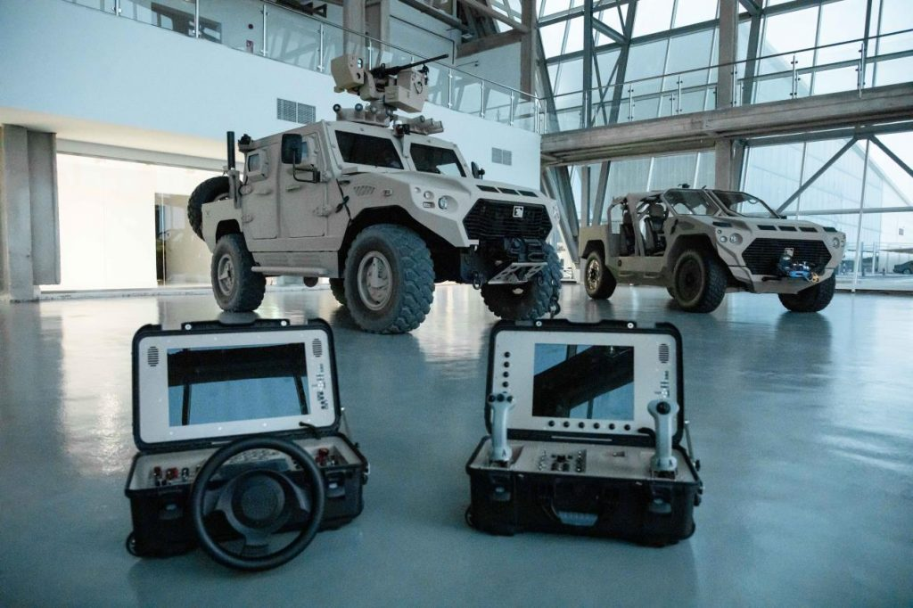 ADASI Unveils Armed Robotic Vehicle, Unmanned Ground Vehicles at IDEX 2021