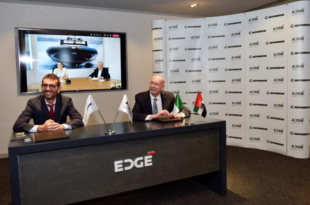ADSB Partners with Novamarine to Manufacture Rigid-Hulled Inflatable Boats in GCC Region