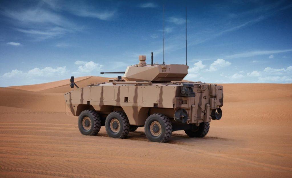 AL JASOOR Launches Rabdan 6x6 Infantry