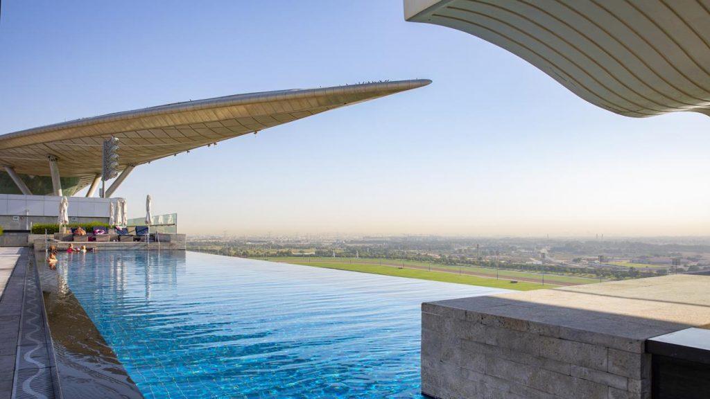 A Last-Minute Staycation, The Meydan Hotel