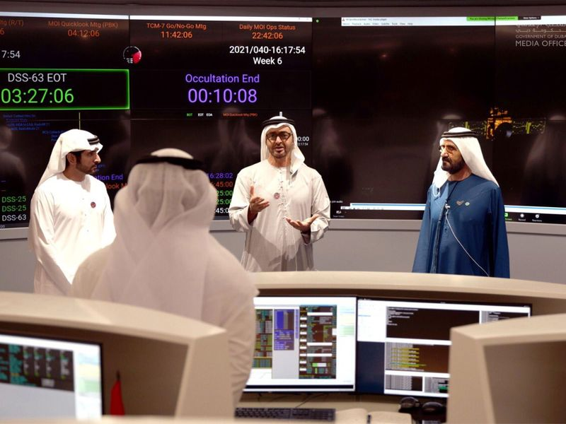 UAE Receives Hope Probe's First Image of Mars