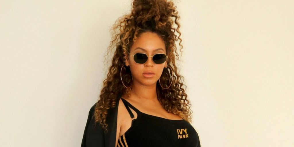 Beyoncé Is All Business in an Ivy Park Blazer and Strappy Stilettos