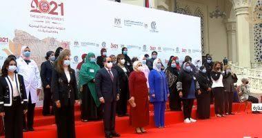 الرئيس السيسي يكرم مدير برنامج الغارمين بمصر الخير