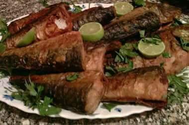 المقاديرعمل السمك الماكريل المقلي