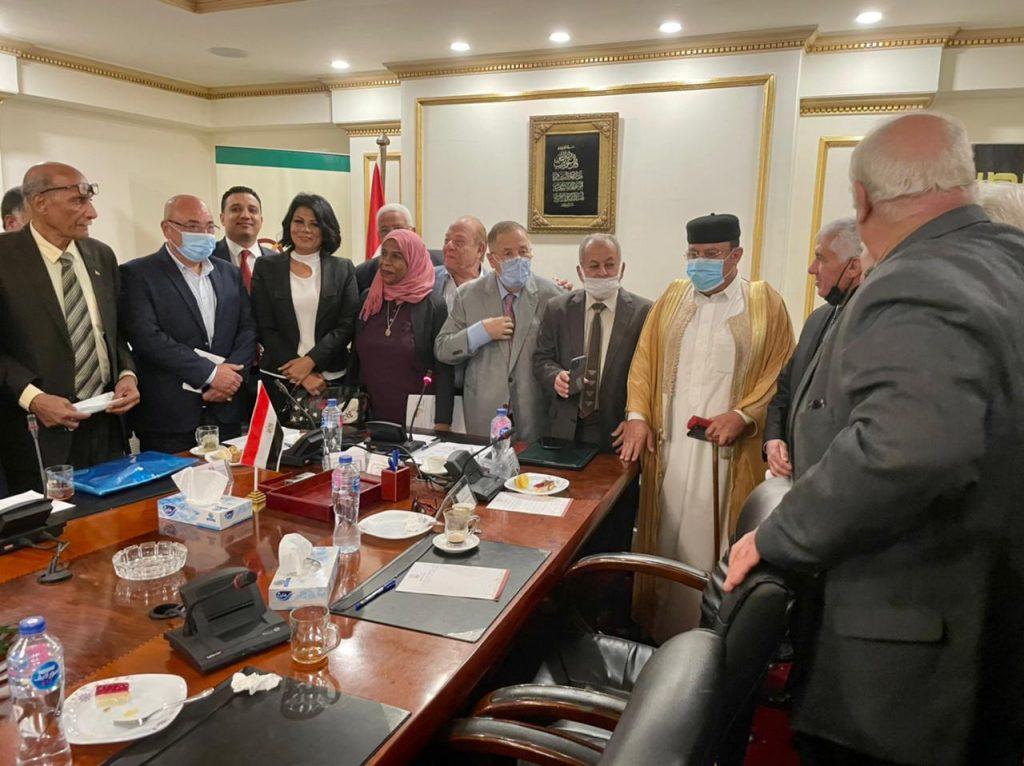 ما تبذله مصر من جهود عظيمة لاستقرار ليبيا