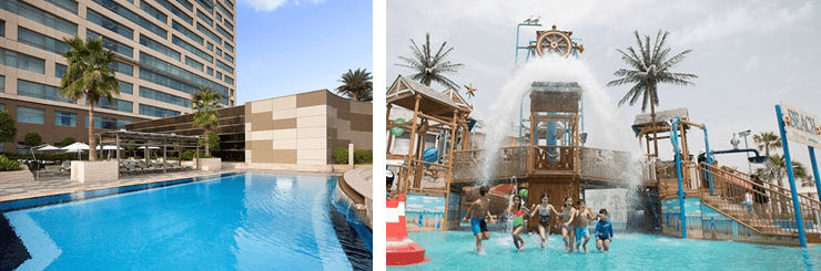 Make A Splash with Swissotel Al Ghurair's Relaunched Laguna Waterpark Staycation Offer