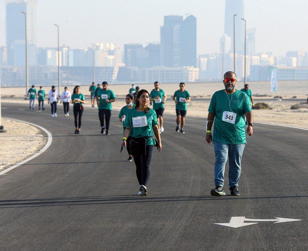 أشاد سهيل عبدالله العريفي مدير تنفيذي قطاع الفعاليات في مجلس أبوظبي الرياضي بالهدف الرئيس