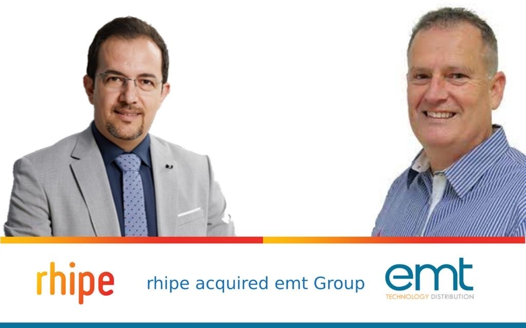 شركة rhipe تستحوذ على emt Distribution