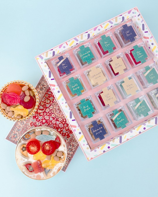 The Sugargram Ramadan boxes are priced at AED 125 for 25 bite-size cupcakes