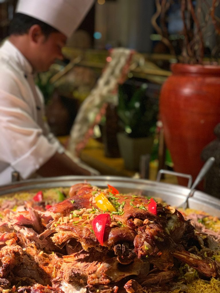 spend a magical Iftar at OUMSIAT- The Meydan Hotel's Courtyard