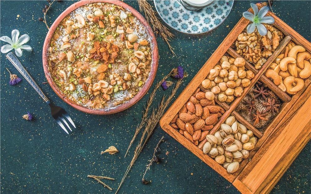 ليكن شهر رمضان هذا العام أكثر تميزاً وخصوصية مع النكهات التقليدية الأصيلة في صالة كاميليا