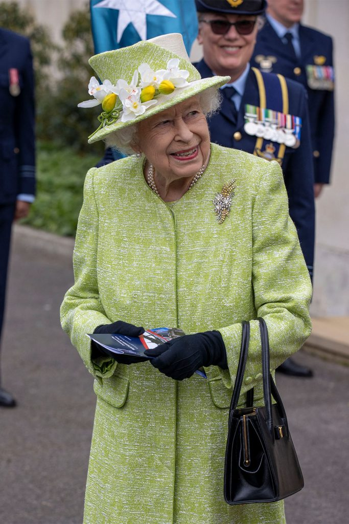 Queen Elizabeth Makes First Public Appearance of the Year as Prince Philip Continues Recovery at Home