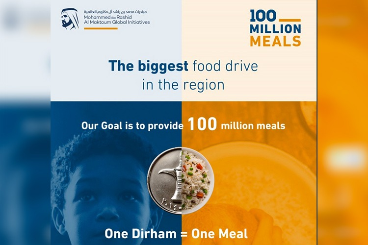 """Four donation channels announced for """"100 Million Meals"""" campaign"""