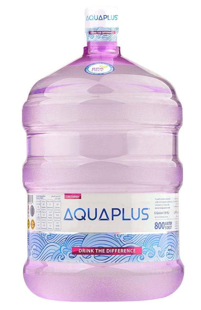 سعر الزجاجات حجم 5 جالون تتراوح بين 8-10 درهم إماراتي