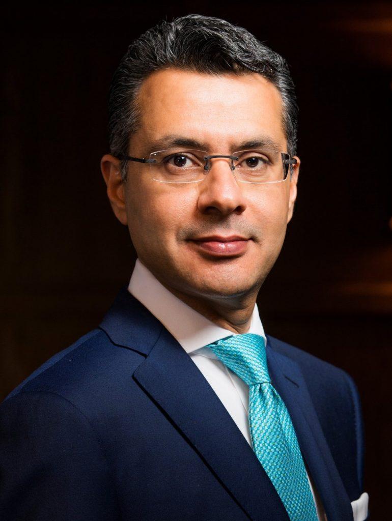 سانديب واليا، الرئيس التنفيذي لشؤون العمليات  في منطقة الشرق الأوسط