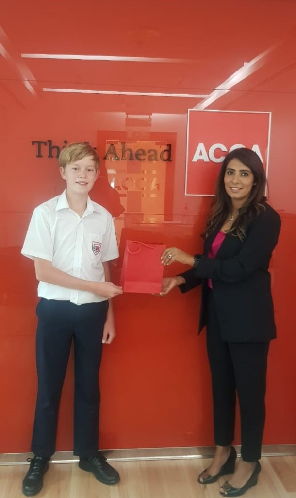 Dubai Student Wins Title of ACCA Middle East Finance Competition