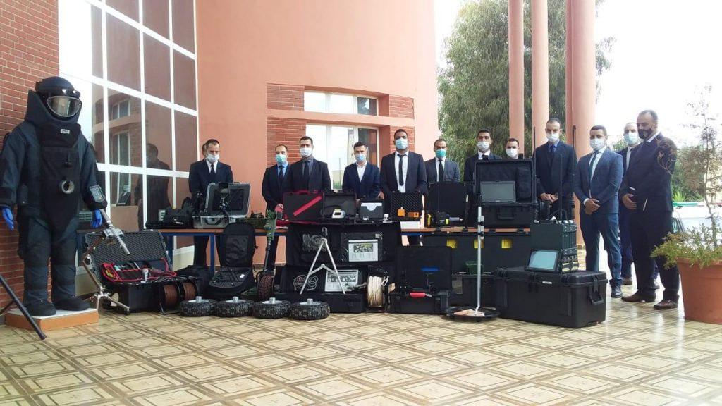 إحداث فرقة جهوية للمتفجرات بمدينة وجدة