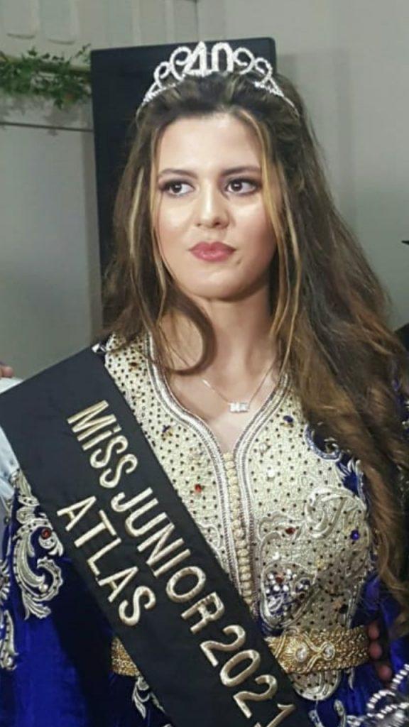 ابتسام مسطاري تتوج ملكة جمال المغرب جينيور 2021