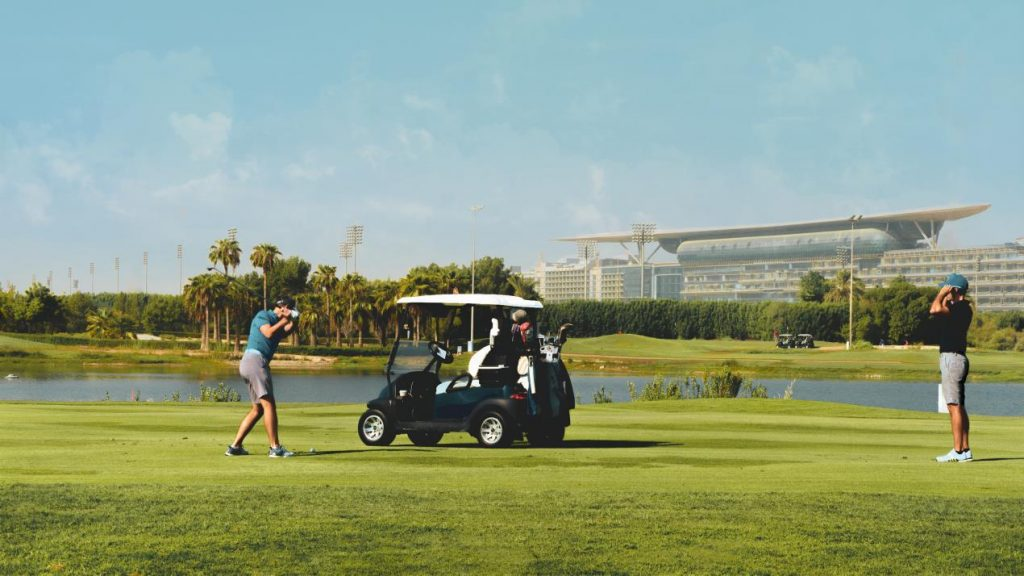 Tee off in the city with this swinging staycation at The Meydan Hotel