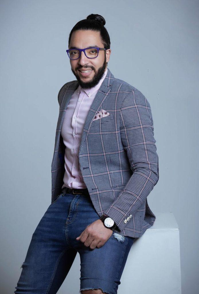 """حسام إبراهيم: سعيد بالعمل في مسلسل """"كله بالحب"""""""