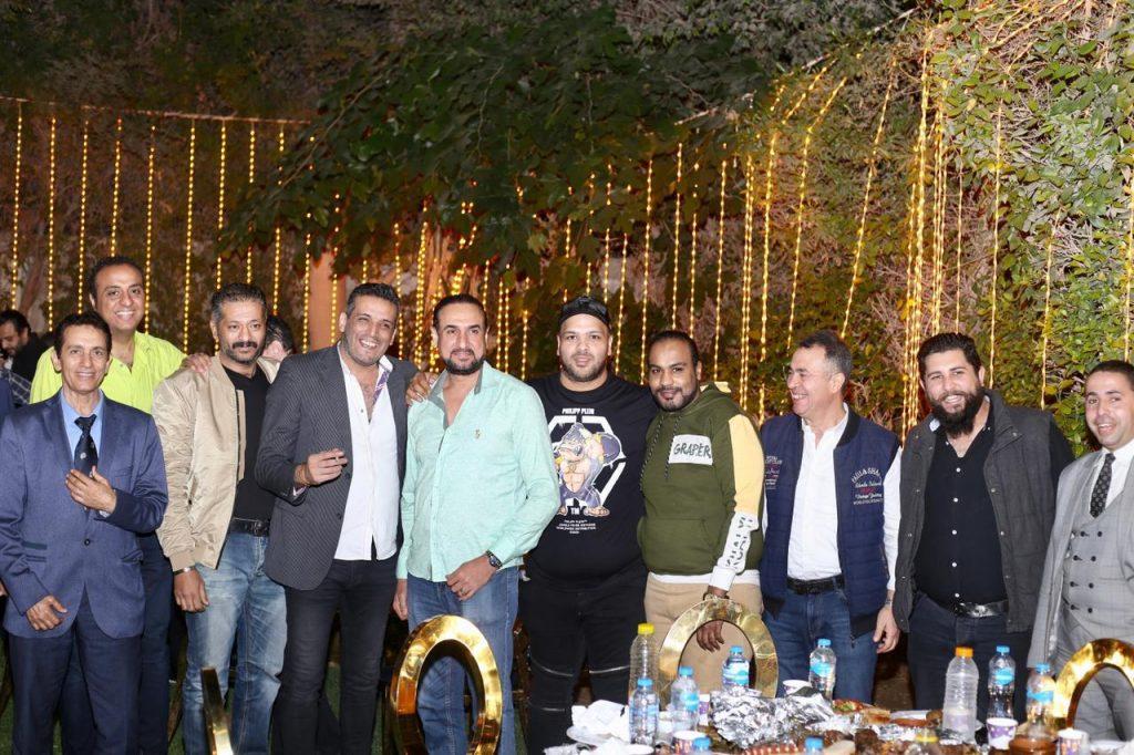 حفل إفطار رمضاني في فيلا عمرو فهمى