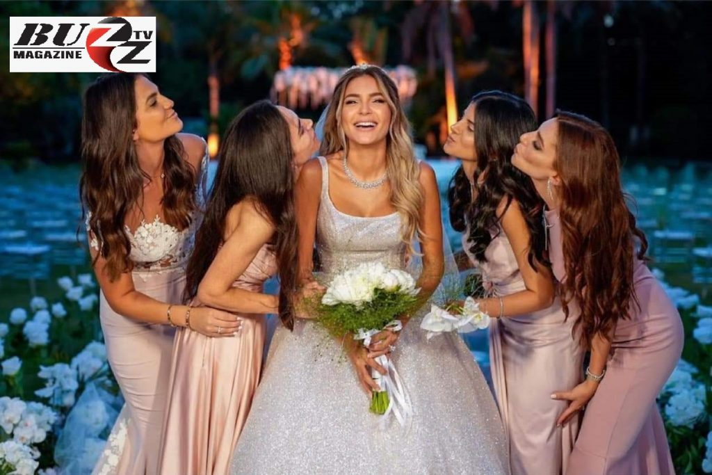 زفافها الآن.. من هي كاميليا الدفراوي ابنة #علا_غانم؟