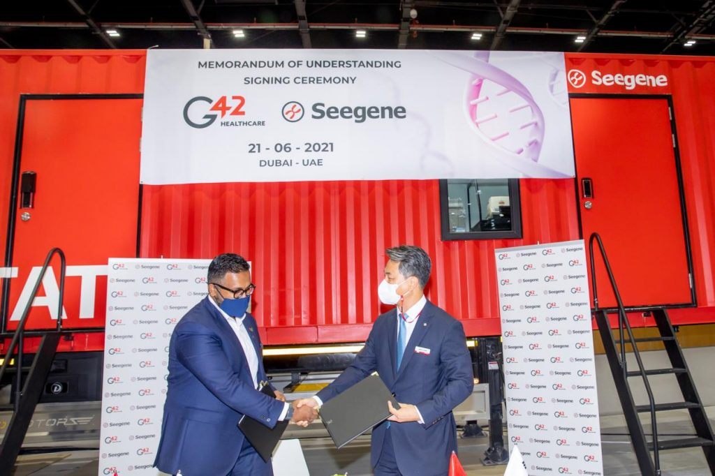 G42 Healthcare, Seegene MoU to offer molecular diagnostic testing laboratory-on-wheels in MENA